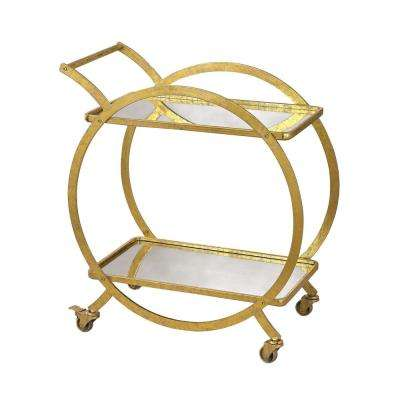 Ring Gold Bar Cart