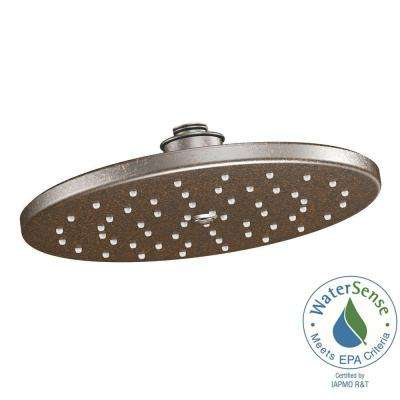 Waterhill 1-Spray 10 in. Eco-Performance Rainshower Showerhead Featuring Immersion in Oil Rubbed Bronze