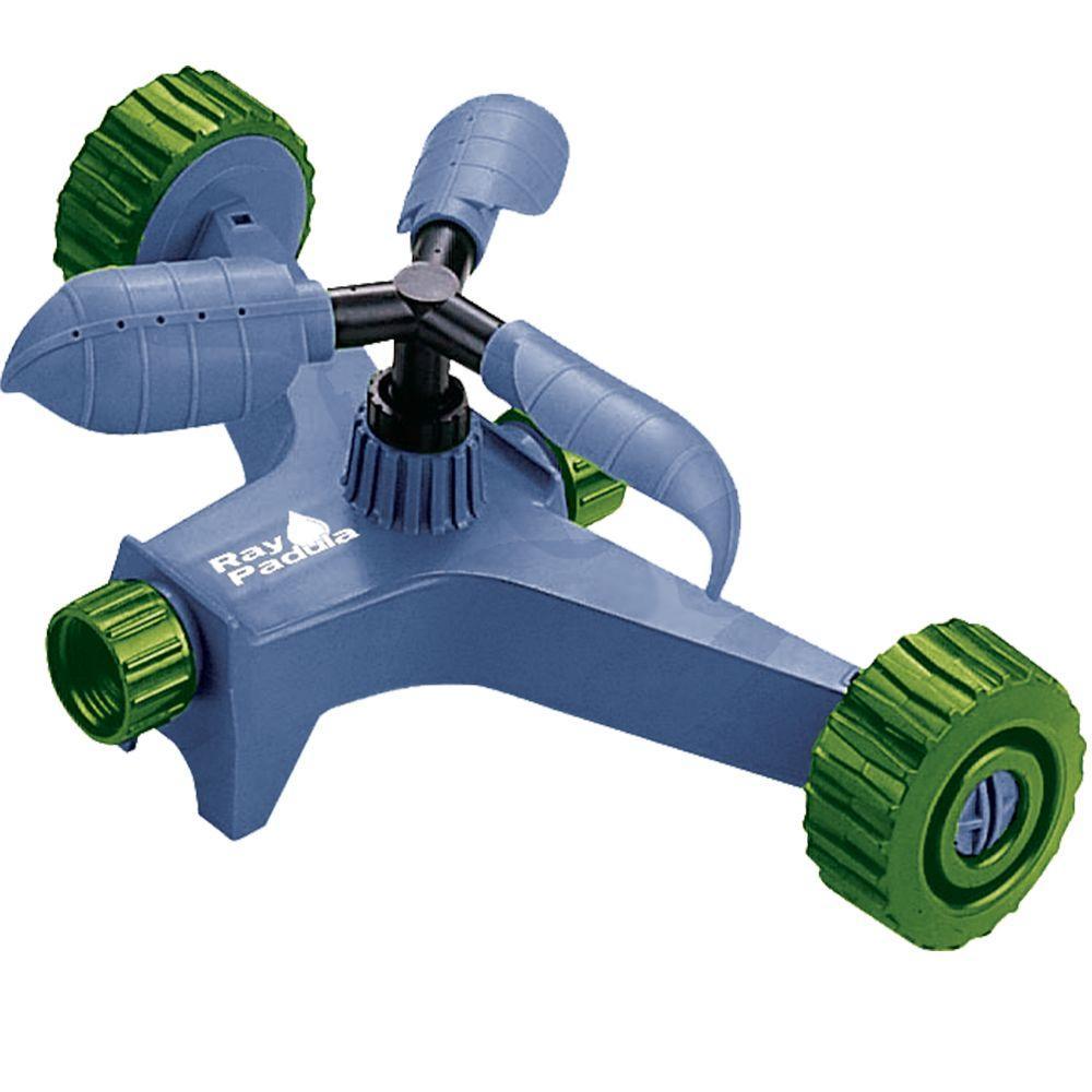 Ray Padula Swirler 3 Arm Adjustable Revolving Spinning Sprinkler