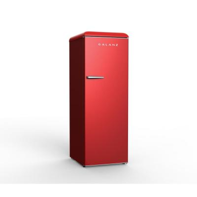 11 cu. ft. Frost Free Convertible Upright Freezer or Fridge in Hot Rod Red with Electronic Temperature Control