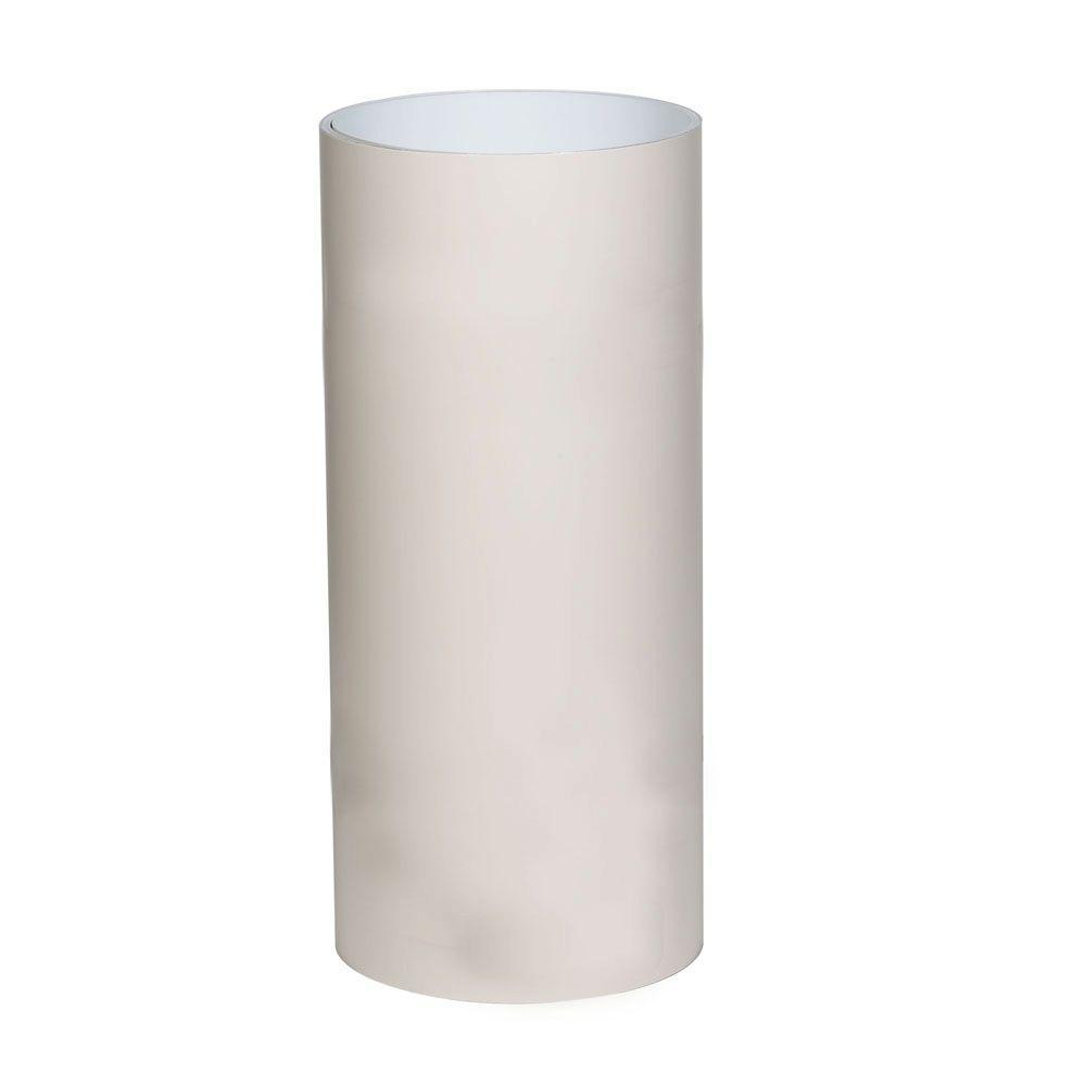 .018 in. x 24 in. x 50 ft. Herringbone over White