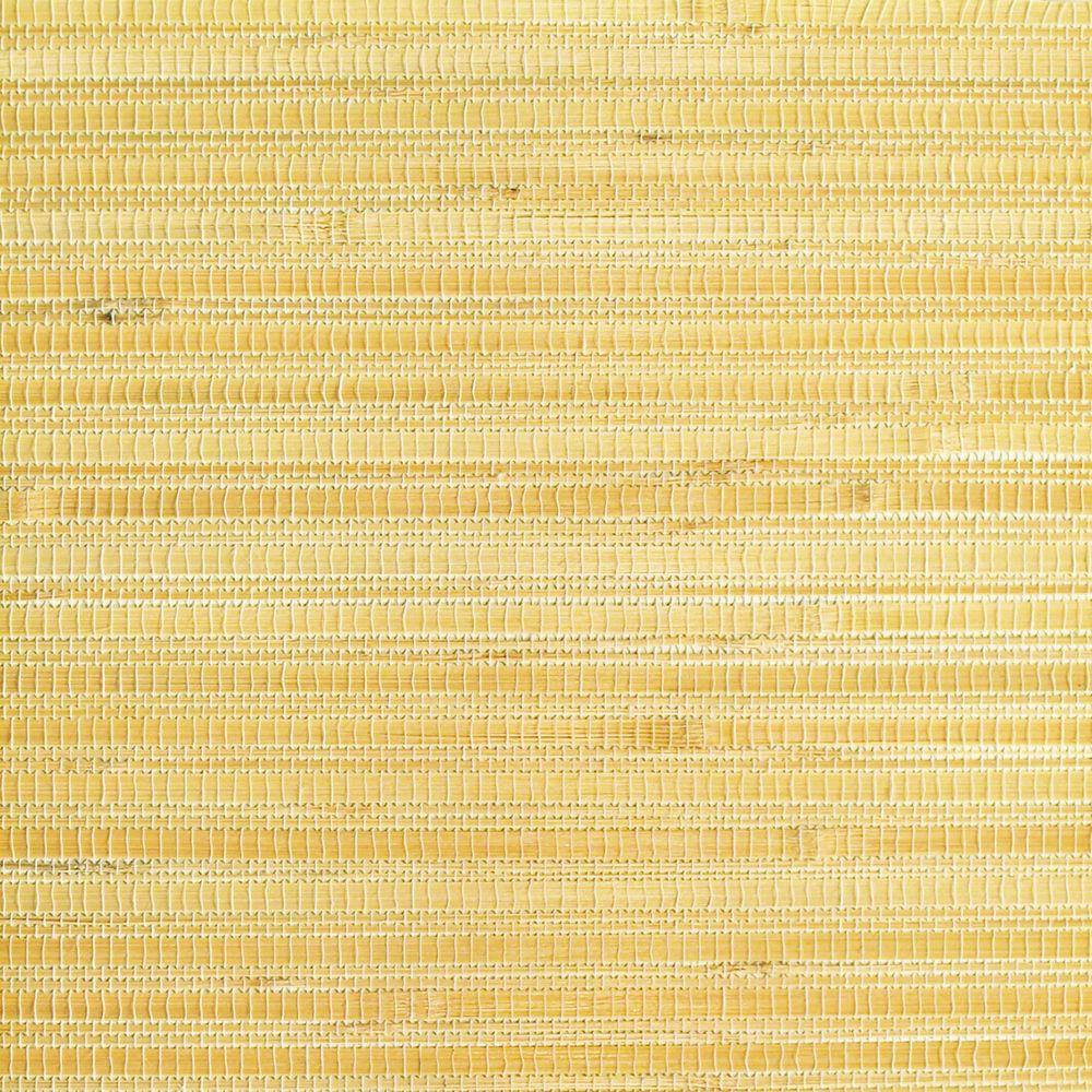 The Wallpaper Company 72 sq. ft. Beige Bamboo Grasscloth Wallpaper-DISCONTINUED