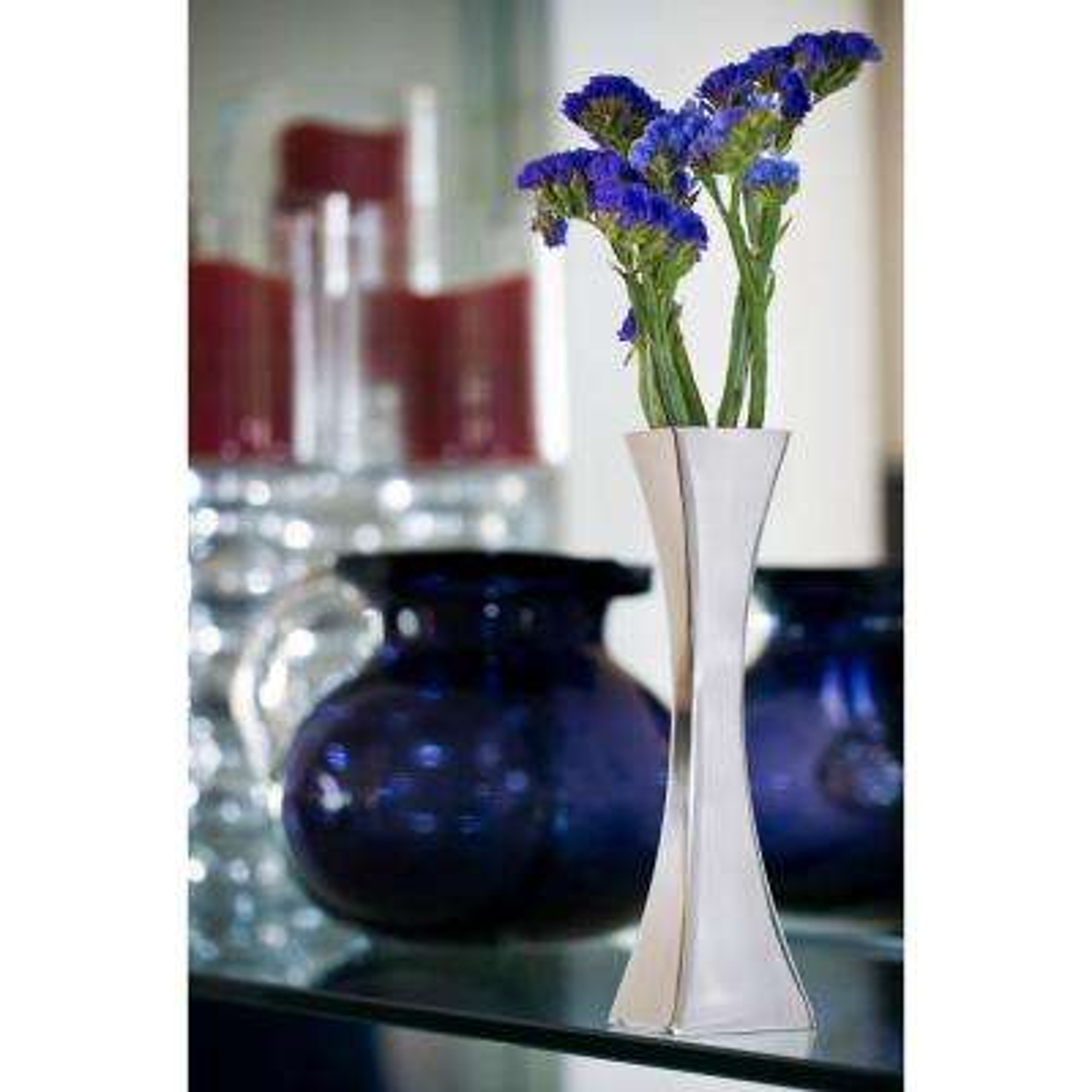 Stainless Steel Vases Vases Decorative Bottles The Home Depot