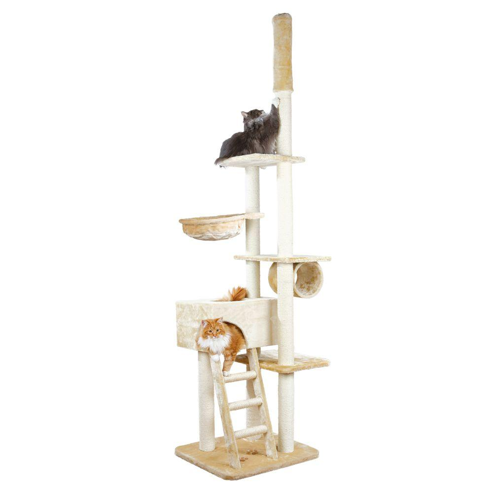 Beige Zaragoza Adjustable Cat Tree