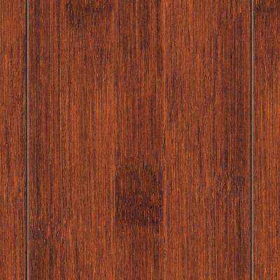 Hand Scraped Seneca 3/8 in. Thick x 4 in. Wide x 38-5/8 in. Length Solid Bamboo Flooring (25.76 sq. ft. / case)