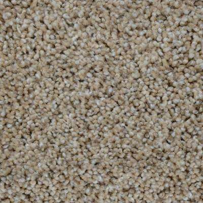 Carpet Sample - Trendy Threads I - Color Seaside Texture 8 in. x 8 in.
