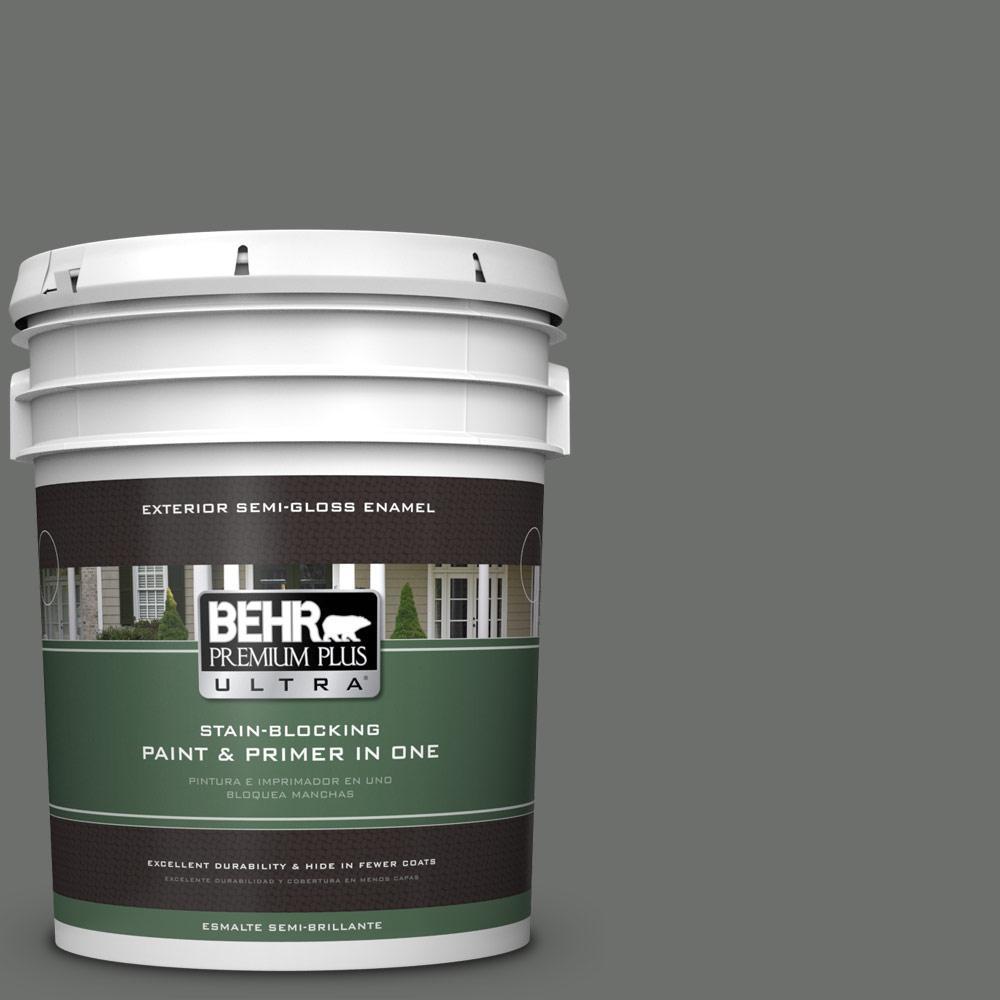 5 gal. #PPU24-05 Ancestral Semi-Gloss Enamel Exterior Paint