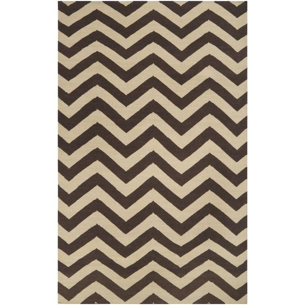 Alzette Chocolate 3 ft. 6 in. x 5 ft. 6 in.