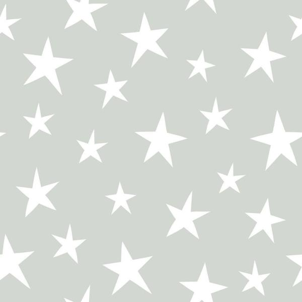 Grey Stardust Peel and Stick Grey Vinyl Strippable Roll (Covers 30.75 sq. ft.)
