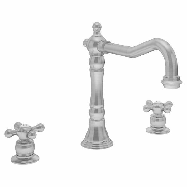 Carrington 2-Handle Kitchen Faucet in Stainless Steel (1.5 GPM)