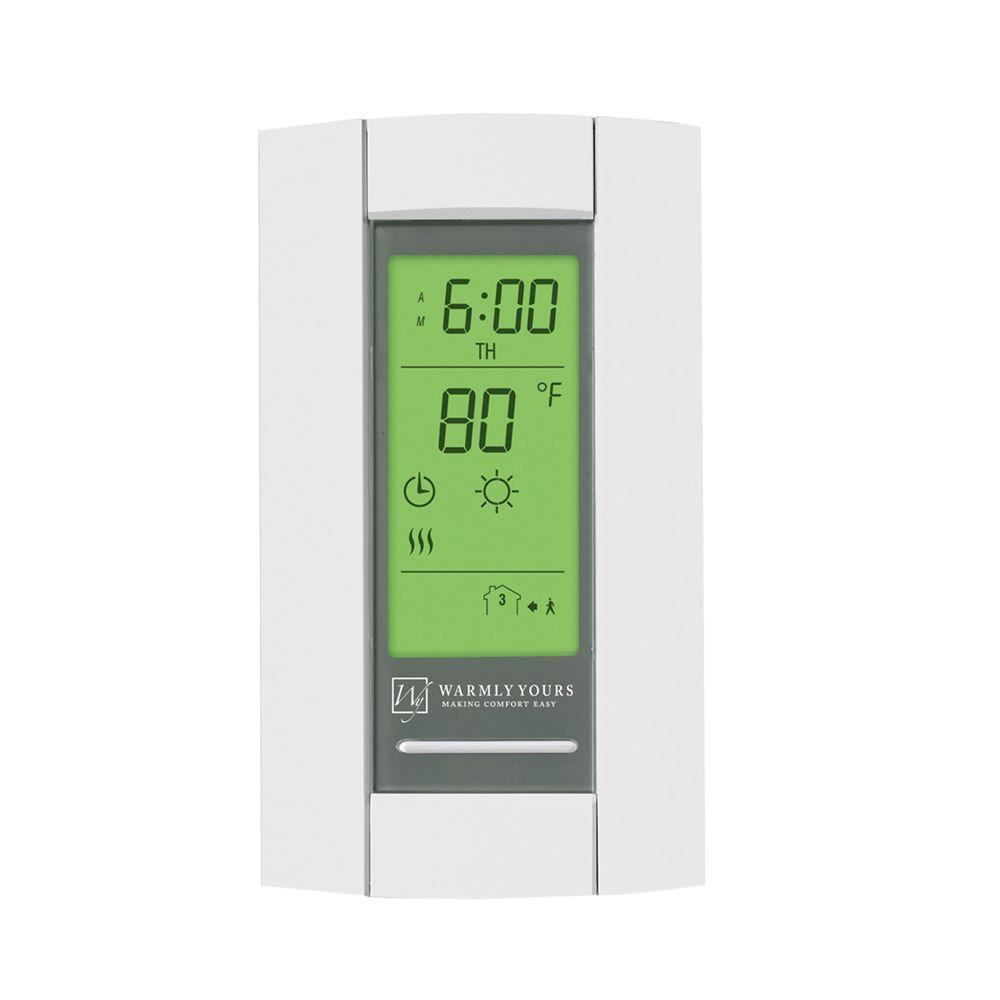 WarmlyYours 12-Volt DC Master Thermostat Floor Warming Control