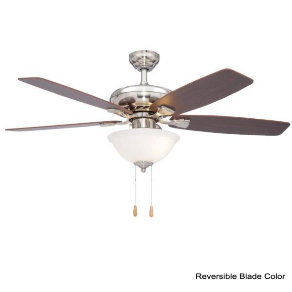 Brushed Nickel Energy Star Ceiling Fan