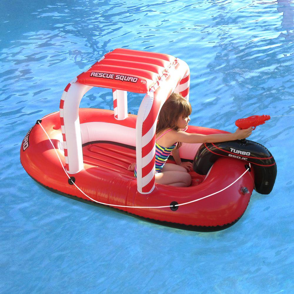 Blue Wave Rescue Squad Inflatable Boat With Squirter