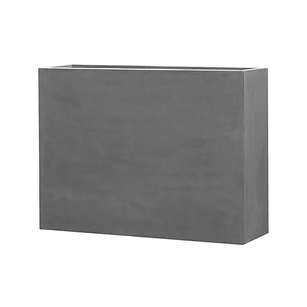 Carlo 35.5 in. x 13 in. x 48.8 in. Cement Fiberstone Planter