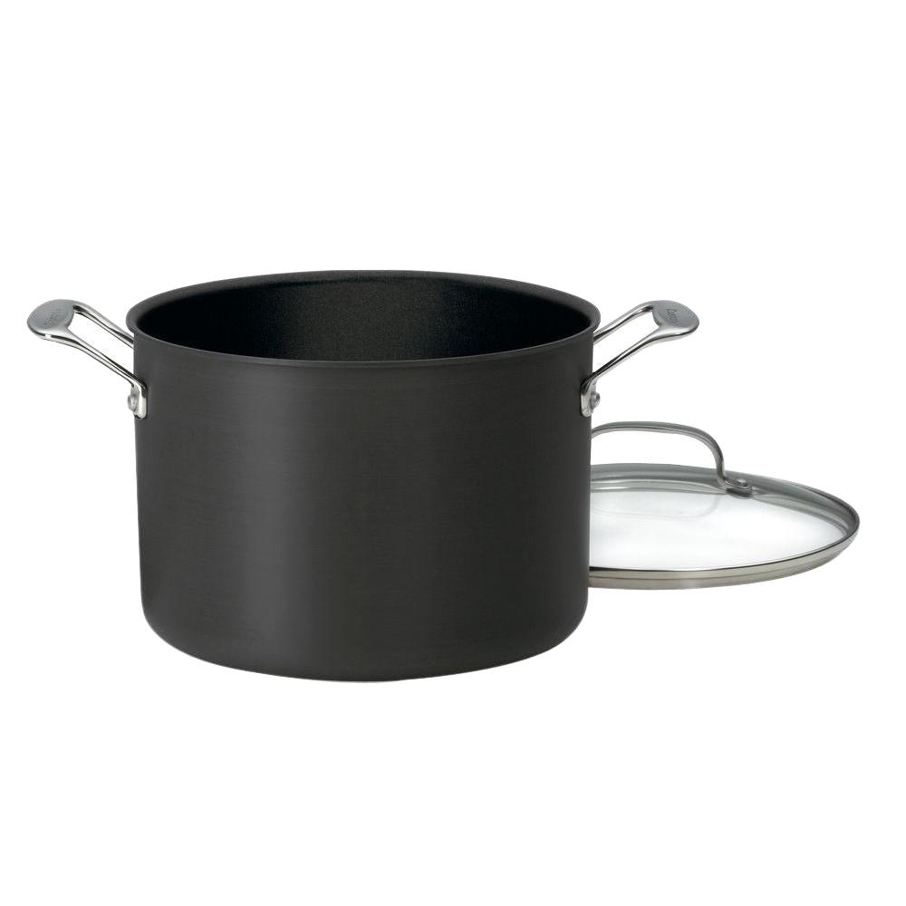 Chef's Classic 8 Qt. Aluminum Stock Pot with Lid
