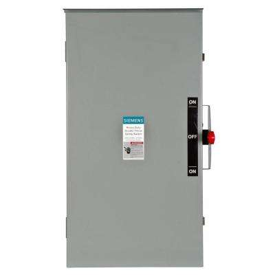 Double Throw 200 Amp 240-Volt 2-Pole Outdoor Non-Fusible Safety Switch