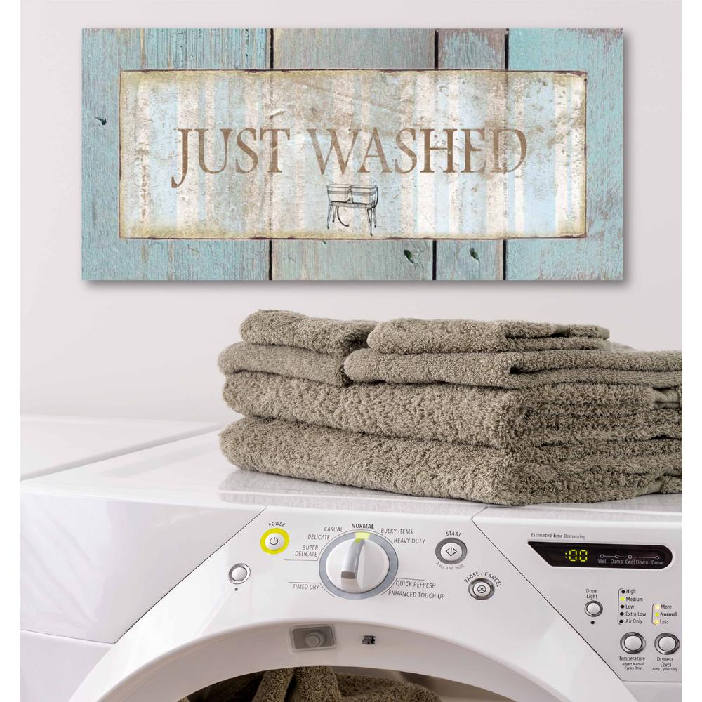 Laundry Room Iii Canvas Printed Wall Art Web Hl135 The Home Depot