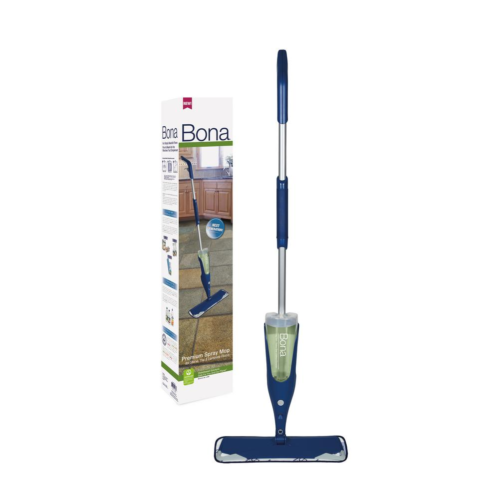 Bona Premium Spray Mop For Stone Tile And Laminate Floors