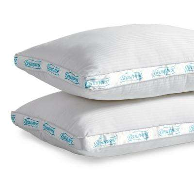 Firm Support Polyester Queen Pillow (Set of 2)
