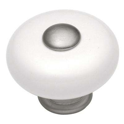 Tranquility 1-1/4 in. Satin Nickel Cabinet Knob