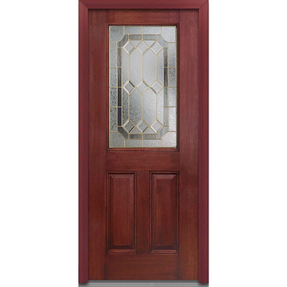 Mmi Door 36 In X 80 In Majestic Elegance Right Hand 1 2