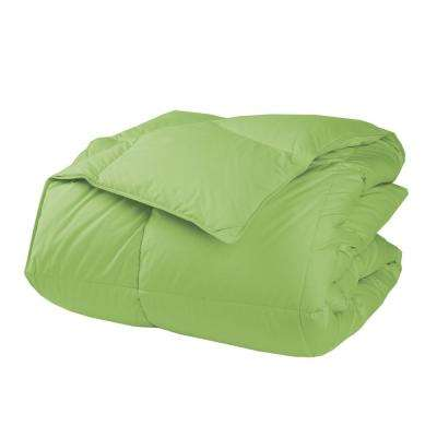 LaCrosse Bright Green Full Down Comforter