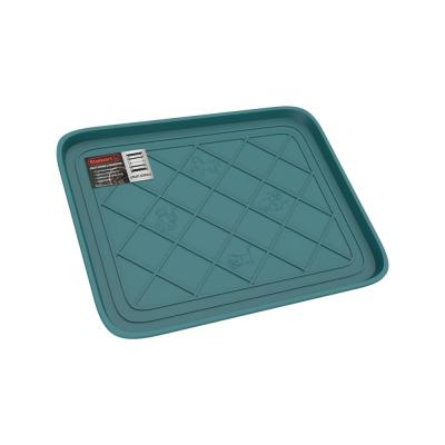 Teal 19.75 in. x 15.5 in. All-Weather Boot Tray