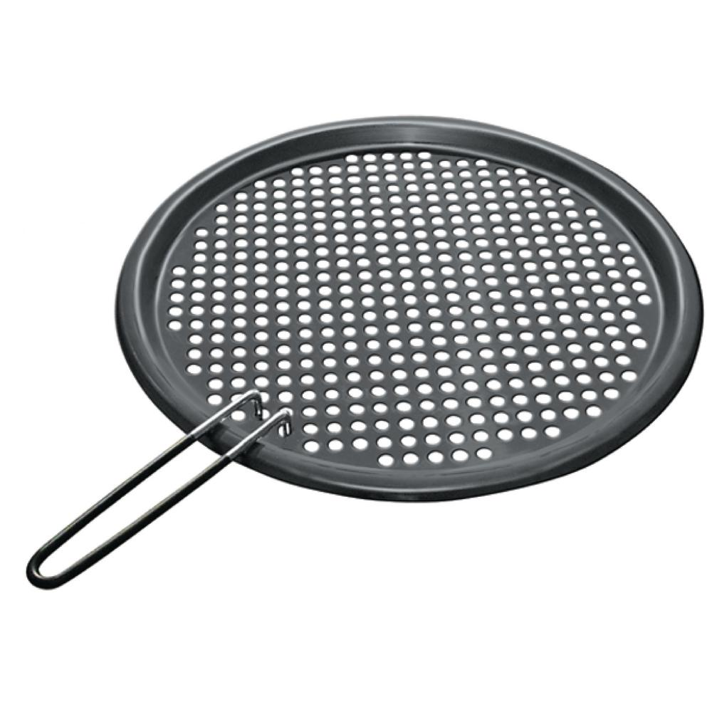 Magma Stainless Steel Fish and Veggie Grill Tray with Removable Handles in Non-stick PTFE Coating