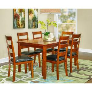 Linville 7-Piece Cherry Dining Set