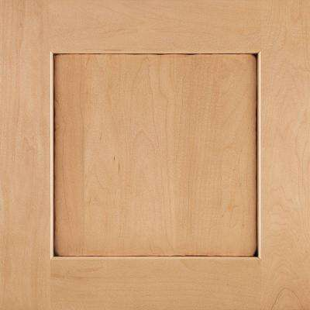 14-9/16x14-1/2 in. Reading Maple Cabinet Door Sample in Coffee Glaze