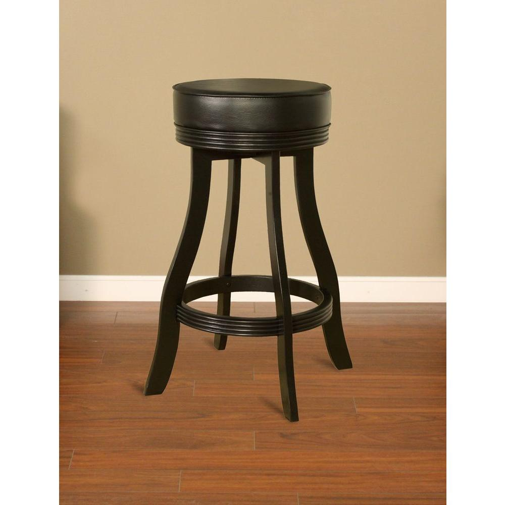 Sensational Designer 31 In Black Cushioned Bar Stool Inzonedesignstudio Interior Chair Design Inzonedesignstudiocom