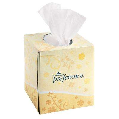 Preference White Facial Tissue (100 Sheets per Pack)