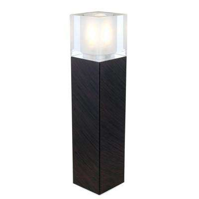 Tenno 10 in. Antique Brown Table Lamp