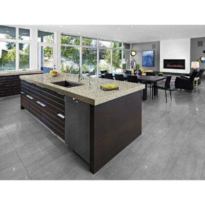 9 ft. 10 in. Solid Surface Countertop Kit in Poplar
