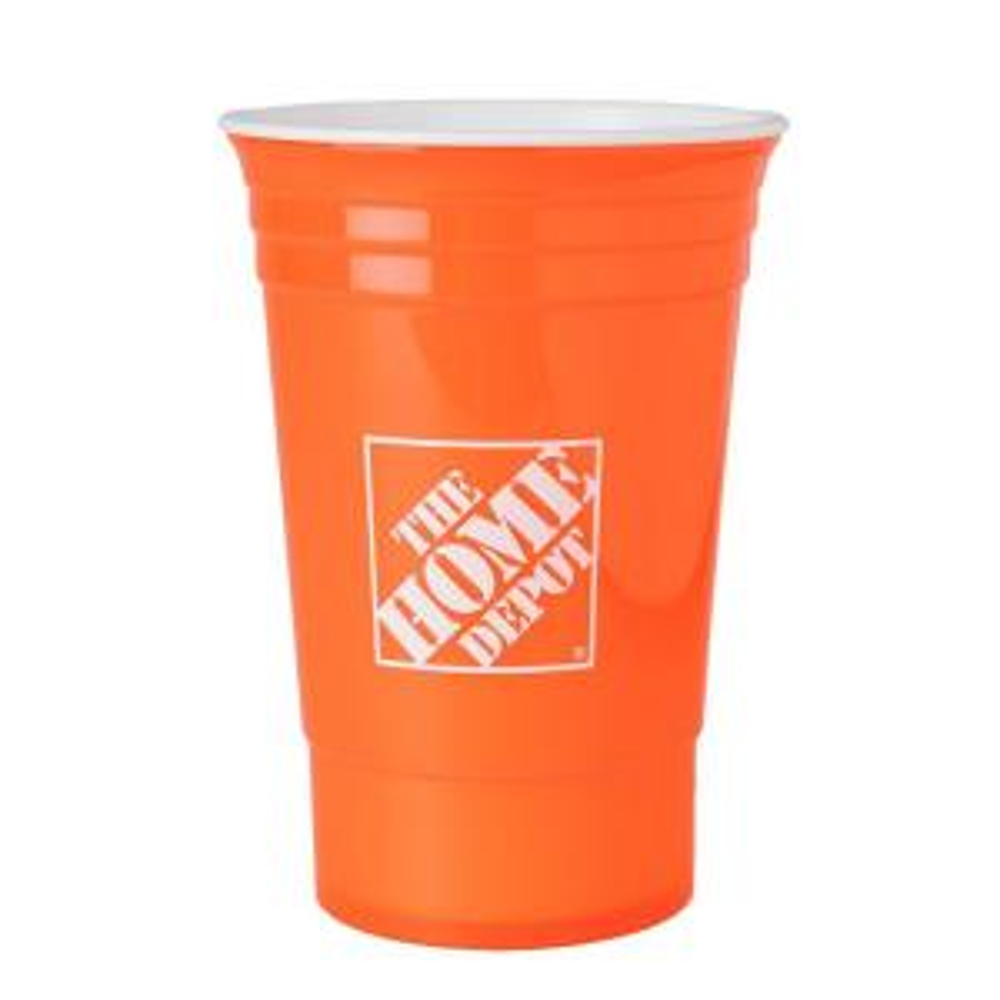 16 oz. Home Depot Cup in Orange