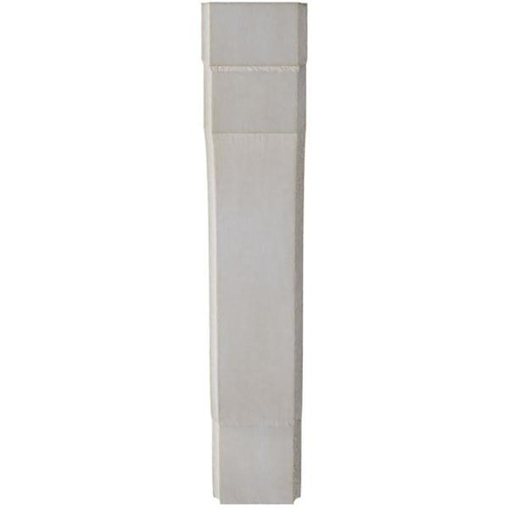 Ekena Millwork 1 3 4 In X 9 1 2 In X 7 1 4 In Chalk Dust White Bedford Wood Vintage Decor Bracket Bktwd02x07x10bewh The Home Depot