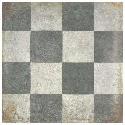 D'Anticatto Decor Quadrati 8-3/4 in. x 8-3/4 in. Porcelain Floor and Wall Tile (11.25 sq. ft. / case)