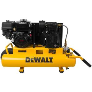 Dewalt 8 Gal. 150 PSI 5.5 HP Belt Drive Gas-Powered Wheelbarrow Air Compressor by DEWALT