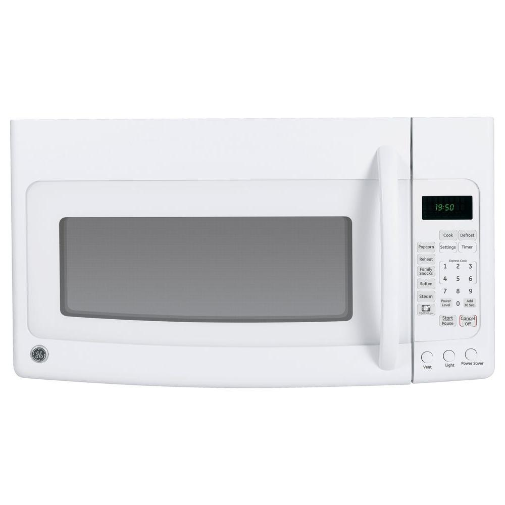 null Spacemaker 1.9 cu. ft. Over-the-Range Microwave in White-DISCONTINUED