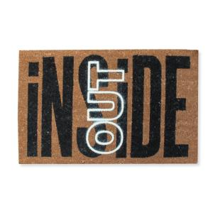 A1HC First Impression Inside Out 18 inch x 30 inch Coir Door Mat