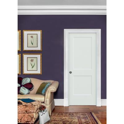 30 in. x 80 in. Monroe White Painted Smooth Solid Core Molded Composite MDF Interior Door Slab