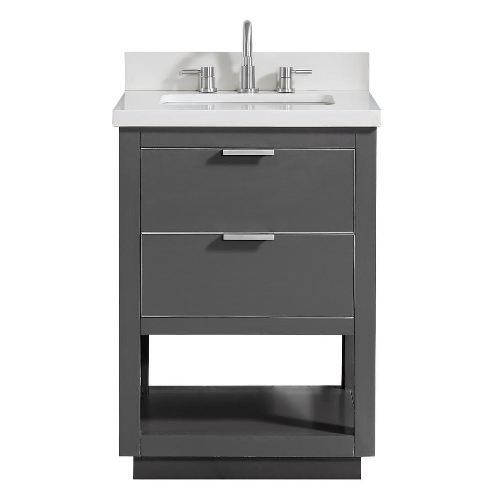 Allie 25 in. W x 22 in. D Bath Vanity in