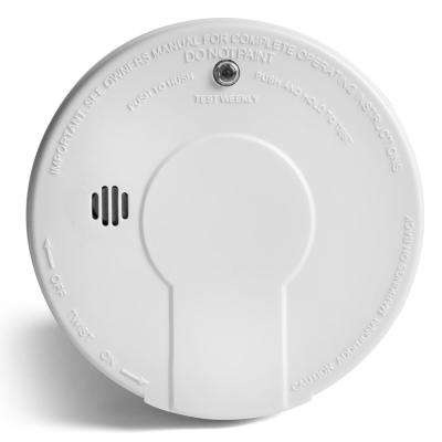 Battery Operated Smoke Detector with LED Power Indicator and Ionization Sensor