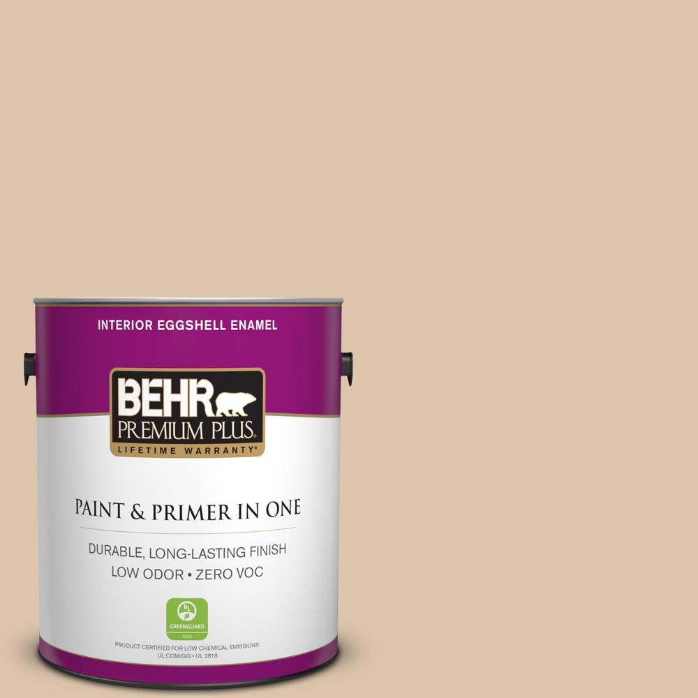 1 gal. #PPU3-08 Sienna Dust Zero VOC Eggshell Enamel Interior Paint