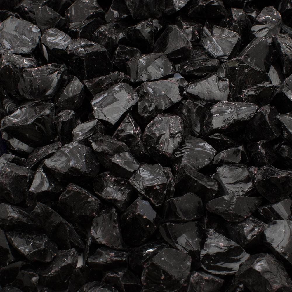 2 lb. Small Black Decorative Glass
