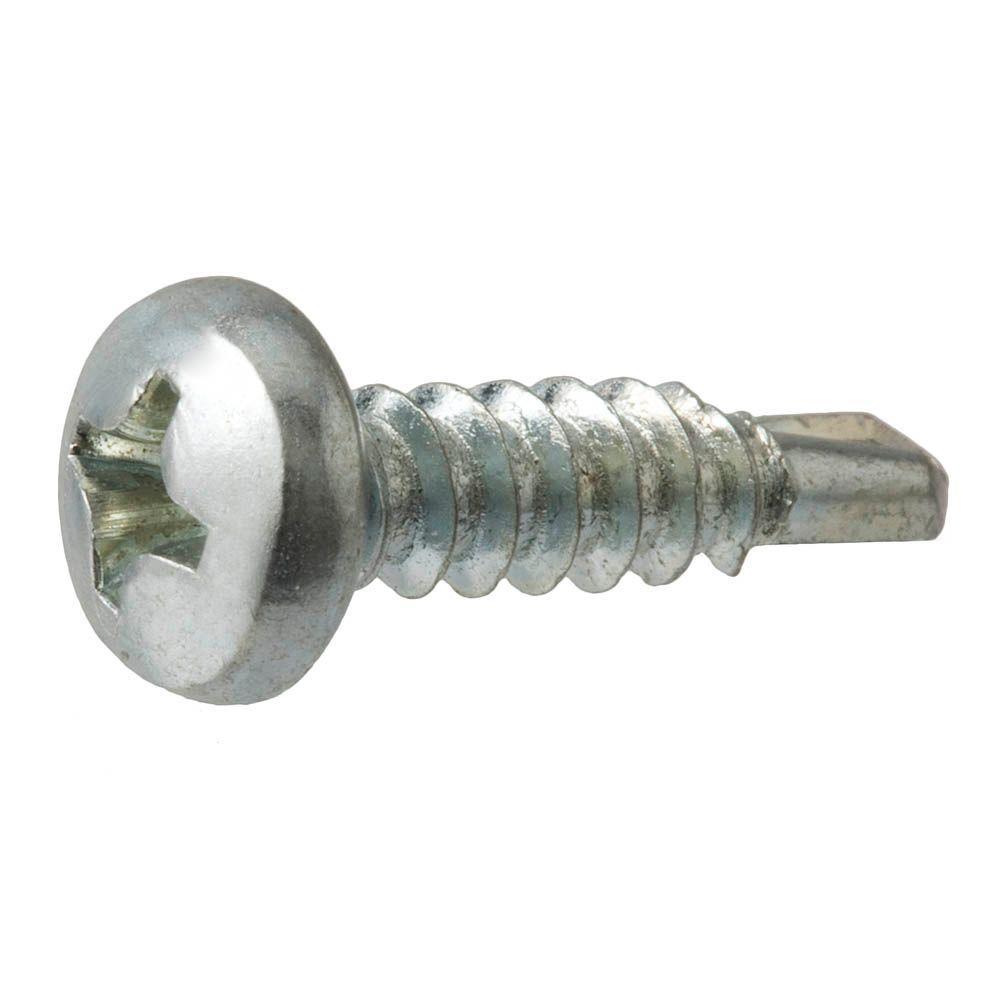 #6 x 1/2 in. Phillips Pan-Head Sheet Metal Screws (100-Pack)