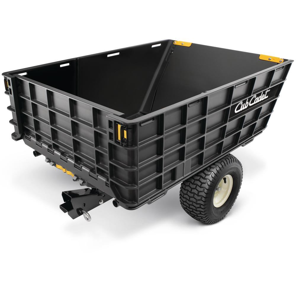 Tow Behind Dump Cart For Riding And