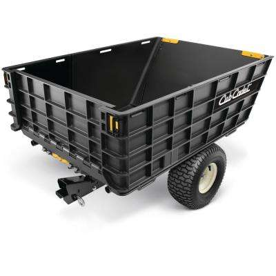 Hauler 10 cu. ft. Tow-Behind Dump Cart For Riding and Zero Turn Mowers