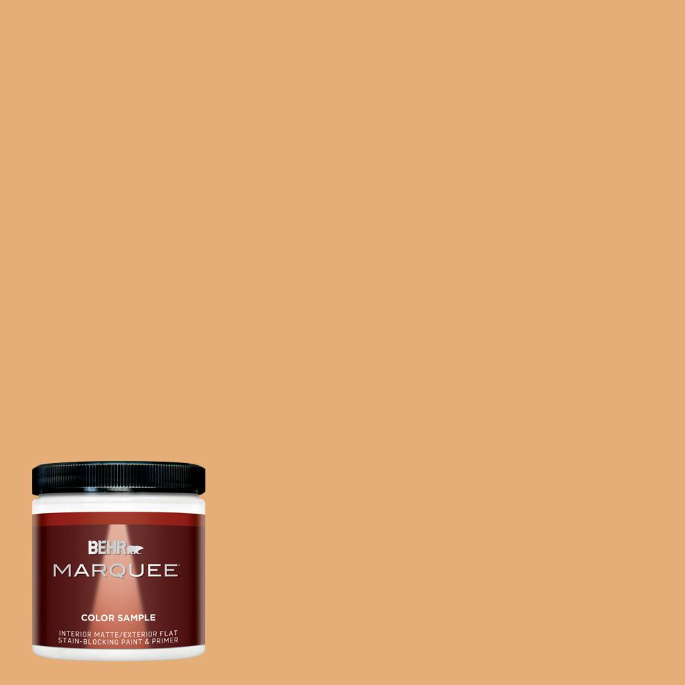 Behr Ultra 1 Gal Pmd 75 Autumn Gourd Matte Interior Paint And Primer In One 175401 The Home Depot