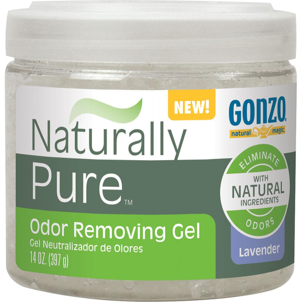 GonzoNaturalMagic Gonzo Natural Magic Odor Removing Gel, Semi-Clear